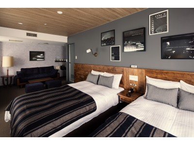 ACME Furnitureがインテリアを手掛けたホテル、「HOTEL THE KNOT YOKOHAMA」が2017年12月1日(金)グランドオープン