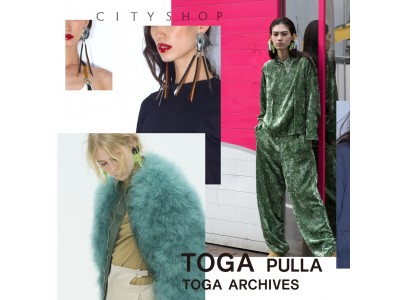 《 THE ARCHIVES 》by TOGA PULLA / TOGA ARCHIVES pop-up store 2019.04.20 (sat.)-2019.05.10 (fri.)