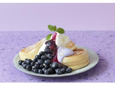 パンケーキ専門店「FLIPPER'S」今しか味わえない!旬の希少な「国産ブルーベリー」を贅沢に使用「奇跡のパンケーキ ハニーブルーベリーヨーグルト」20日間限定で販売