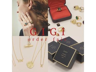 GIGI jewelryオーダー会開催!
