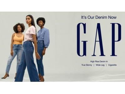 GAP50周年はスタイルもフィットも多様性の新時代「It's Our Denim Now-自由を、穿こう。」キャンペーンが8月20日(火)よりスタート!