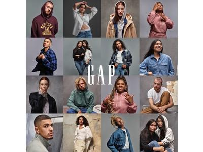 Gap、2021 FALLグローバルキャンペーンで個性や多様性、オプティミズムを推進する「INDIVIDUALS」をローンチ