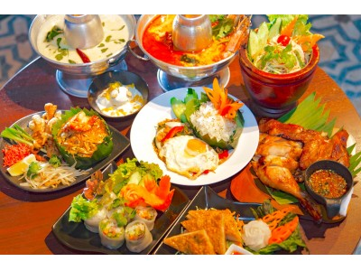 渋谷でタイへのショートトリップ。渋谷・スペイン坂に本格タイ料理が味わえる創作カフェ&レストラン『バンコクナイト』が3/3(金)オープンいたします。