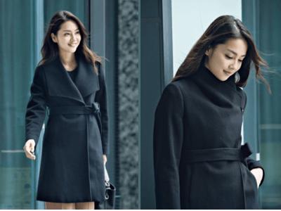 女性目線でこだわった機能性とデザイン性が特長!「ウール100%襟元2WAYコート」を発売~印象が変わる襟デザインでビジネスからフォーマル、普段使いまで着回し可能~