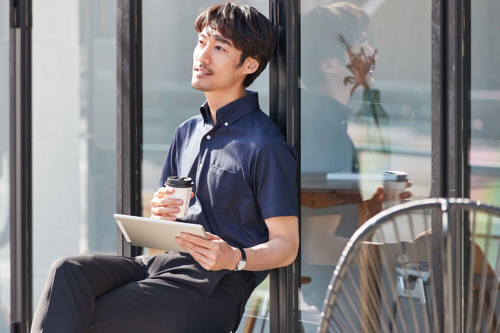 ビジネスからワークアウトまでシーンレスに使える夏用ポロシャツ発売~昨年の好評を受けて総商材数125%... 画像