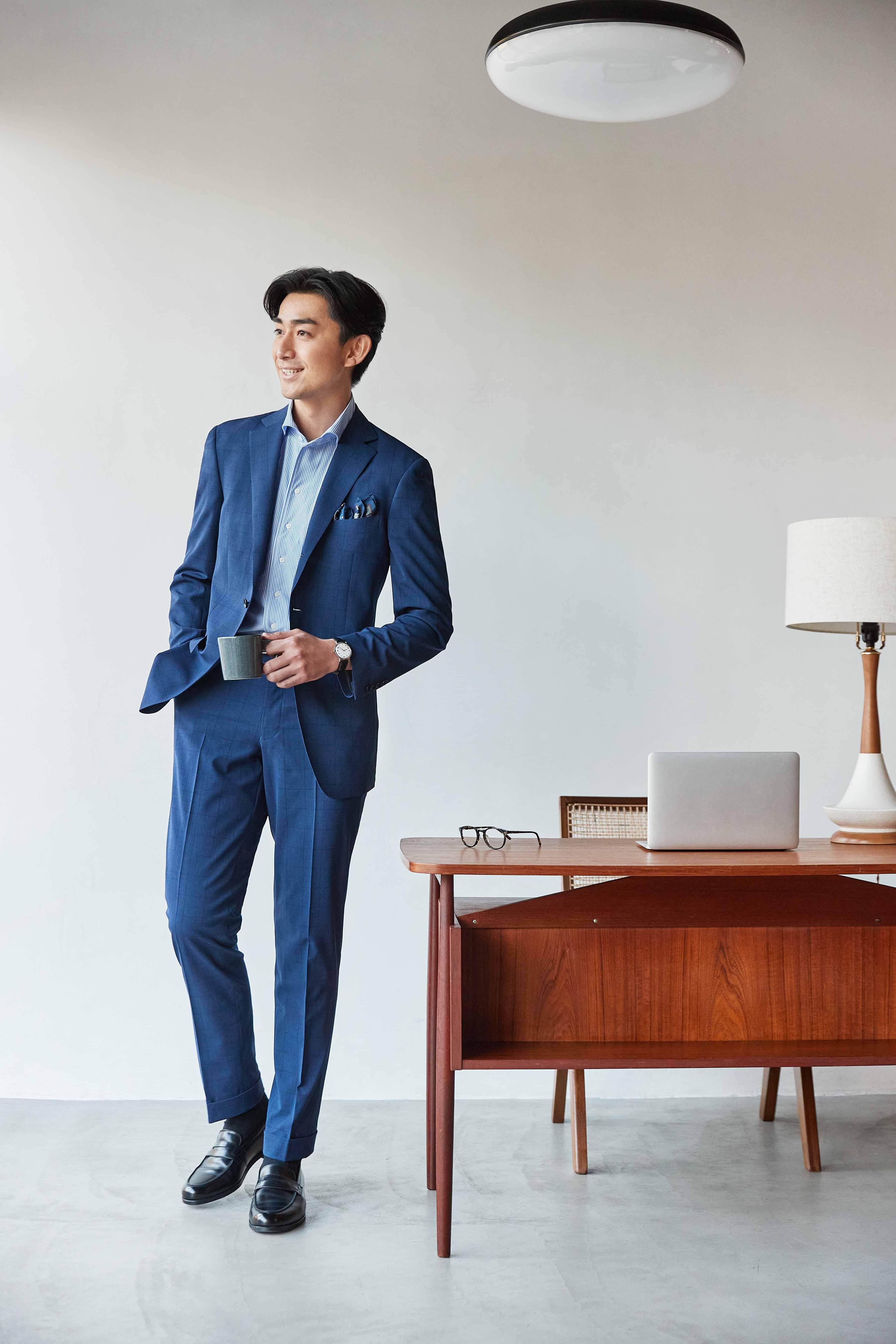 涼しく快適なノンアイロン・ウォッシャブルスーツ新発売従来品と比較して約2.5倍の通気量を実現~羽織るような着心地と繰り返し洗っても綺麗な着用感を両立~