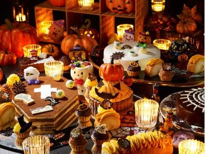 「秋の味覚満載ハロウィンデザートブッフェ」を 開催