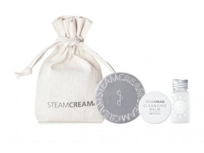シンプルスキンケア「スチームクリーム」から、新製品クレンジングバームも入った「うるおすスプリングコフレ」が発売!