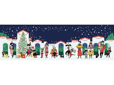 """""""Simple Pleasure of Togetherness""""。「スキンケアをシンプルにする」STEAMCREAMブランドから、夢溢れるクリスマスを彩るスチームクリーム限定デザインが新登場!"""