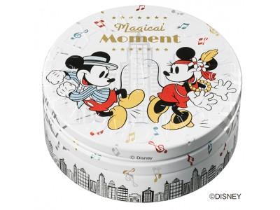 """全身用保湿クリーム スチームクリームにて""""ミッキーマウス""""と""""くまのプーさん""""限定デザイン缶、好評発売中!"""