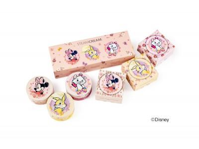 全身用保湿クリーム「スチームクリーム」より、乙女心をくすぐるディズニーキャラクターを集めたmini缶セットが新発売!