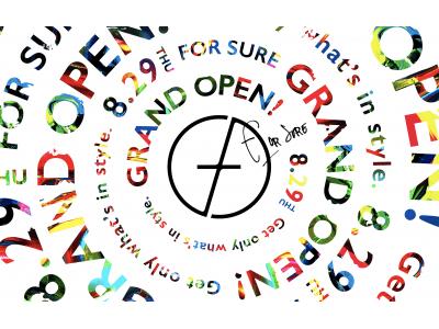 """インフルエンサーによるファッションEC『FOR SURE(フォーシュア)』が本日8月29日にいよいよグランドオープン!ファッションLOVERのための """"ショッピングの楽しさ"""" でつながる世界が出現!"""