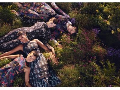 ERDEM x H&M - マイケル・プデルカによるイギリスのカントリーサイドで撮影されたキャンペーンビジュアルを公開