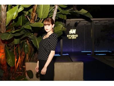 H&M、2020年 春夏 STUDIO コレクションをビバリー・ヒルズで発表、日本からはモデルのemmaが登場