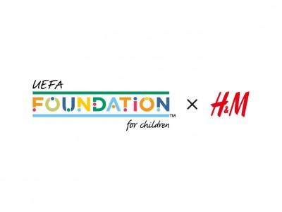 H&M、UEFA Foundationと協同し、キッズ向けサッカーシャツ・コレクションを発売!