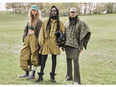 H&M、ゴープコアをテーマにしたウィメンズ2021AWコレクションを発表
