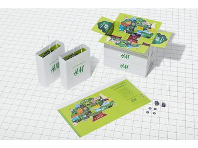 H&M、ボードゲームを遊びながらサステナビリティについて学べる「H&M サステナすごろく」を展開