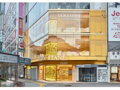 渋谷スクランブル交差点でプロヴァンスランチやスイーツを楽しめるロクシタンカフェ 渋谷店 ブーケ・ド・プロヴァンス2019年10月5日(土)リニューアルオープン