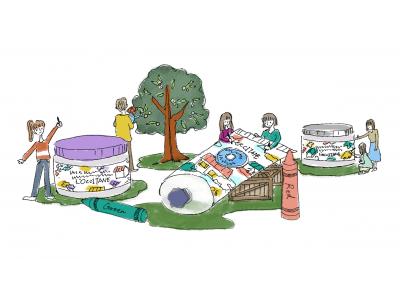 週末は二子玉川と表参道へ出かけよう!ロクシタン ぬりえランドを二週にわたって開催!