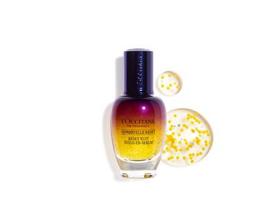 ロクシタンスキンケアNo.1*美容液「イモーテル オーバーナイトリセットセラム」が今秋リニューアル!熟睡したかのようなふっくらハリツヤに満ちた肌に。