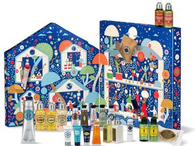 クリスマスまでを楽しくカウントダウン!ロクシタンの人気アイテムが入った冬だけのお楽しみ。ロクシタン アドベントカレンダー2021年10月27日(水)限定発売