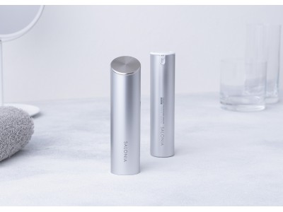 美顔器デビューにぴったり!たった3分で潤い177%にUP* SALONIAから初のフェイスケア「SMART MOISTURE DEVICE」8月19日発売