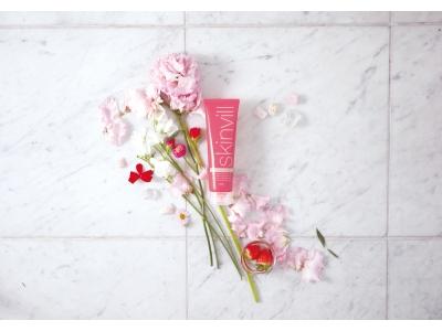 skinvill「ホットクレンジングジェル」から初の限定商品。華やかな春の香り、フラワーシャワーブレンド 2月1日発売