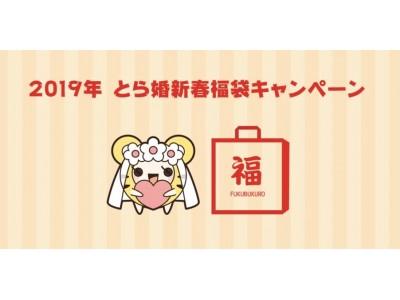 全プラン月会費1ヶ月分が無料!?【趣味を変えずに、出会いを変える】婚活サービスの「とら婚」が『2019年 新春福袋キャンペーン』を開催!