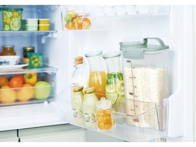 密閉構造で酸化を抑え、お米の鮮度をキープ!「Toffy 冷蔵庫用ライスストッカー 2.4kg」新発売!