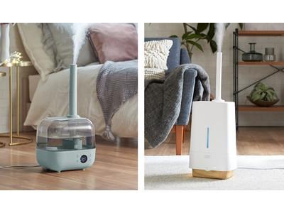 加熱式と超音波式を組み合わせ効率よく加湿するハイブリッド式加湿器2モデル発売