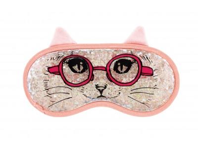 シリーズ累計販売数80万個!ネコ好きにはたまらないデザインの冷感&温感リラクゼーショングッズ「AQUA JELLY  CAT EYE PILLOW(アクアジェリー  キャットアイピロー)」発売