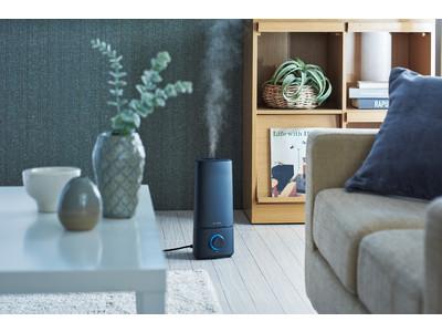 シンプルな色合いとデザインでインテリアになじむ「NEUTRAL」シリーズから「NEUTRAL 超音波アロマ加湿器」発売!