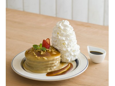 ~ Eggs 'n Thingsより感謝の気持ちを込めて ~Eggs 'n Things京都四条店 4周年Anniversaryパンケーキが登場2018年5月7日(月)~ 5月31日(木)まで販売