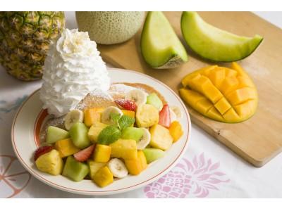 Eggs 'n Thingsからみずみずしくジューシーなフルーツたっぷりの夏パンケーキが登場!『サマーフルーツパンケーキ』8月1日(水)~9月2日(日)期間限定販売