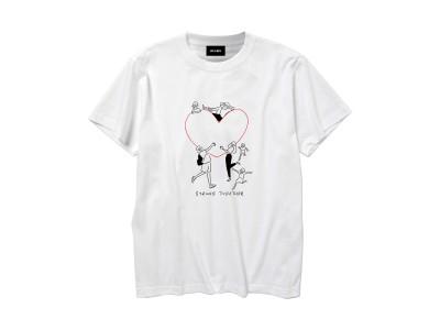 西日本豪雨被災地支援 Yu Nagaba × BEAMS チャリティーTシャツ発売