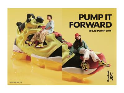 """5月15日はリーボック""""ポンプデー""""!今年のテーマは「PUMP IT FORWARD」インスタポンプフューリー初期モデル""""シトロンカラー""""が日本限定で発売決定!"""