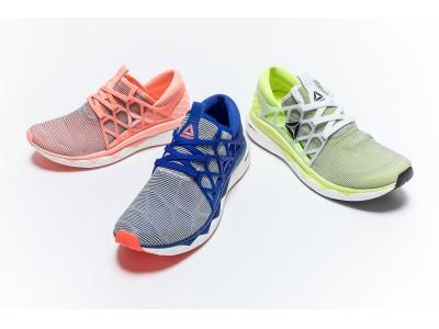 リーボックが誇る8の字織りアッパー技術とクッショニング素材が融合フィット感とスムーズな足運びを実現「FLOATRIDE FLEXWEAVE(R)」 2018年9月7日(金)発売