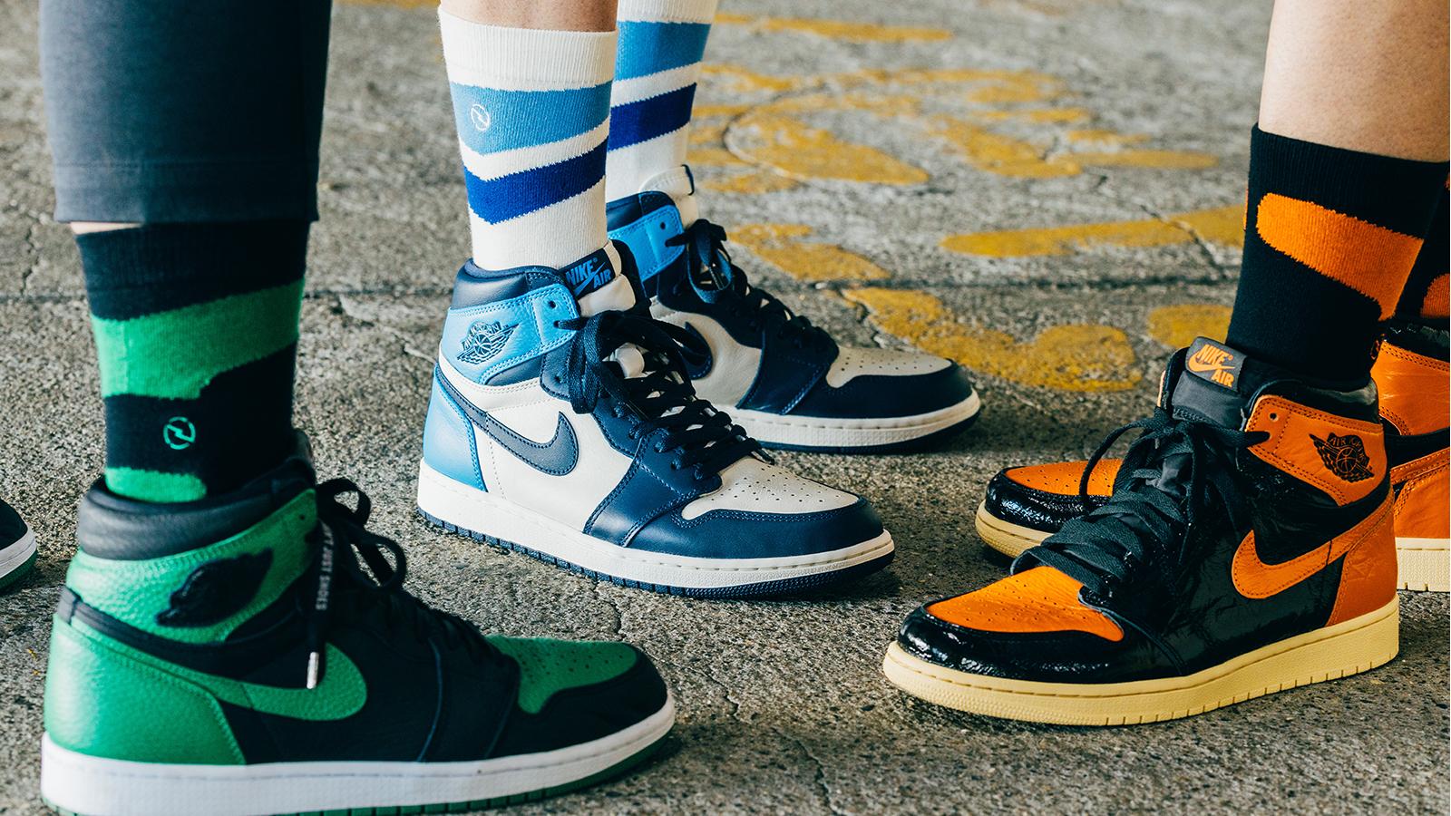 発売後、即完売してしまう人気スニーカー専用の靴下がUNSTREETよりリリース