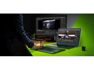 NVIDIA、全世界の 4,000 万人のクリエイティブ能力をNVIDIA Studioで向上