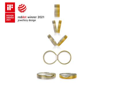 「iFデザイン賞2021」受賞!「レッドドット・デザイン賞2021」と『ダブル受賞』の結婚指輪