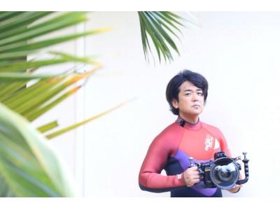 2018年9月22日(土)『神戸学校』水中写真家の鍵井 靖章さんをお招きして開催 会場 STAGE FELISSIMOでは作品も展示