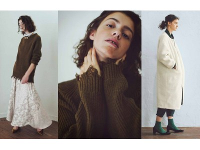 ヴィンテージマインドを今の着こなしにミックスするファッションブランド、フェリシモ『MEDE19F[メデ・ジュウキュウ]』から秋冬新作