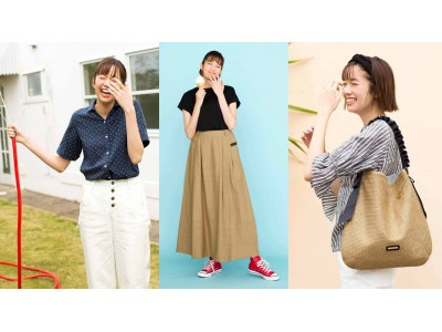 フェリシモのファッションブランドLive in comfortがSummer2019新作をウェブ販売。着心地よいダブルガーゼ素材のトップス&ボトムスが多数ラインナップ