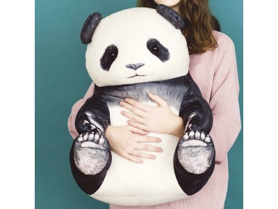 パンダがだんだん成長する!?大中小と入れ子式になった「パンダのランチボックスセット」がフェリシモ『YOU MORE!』から誕生