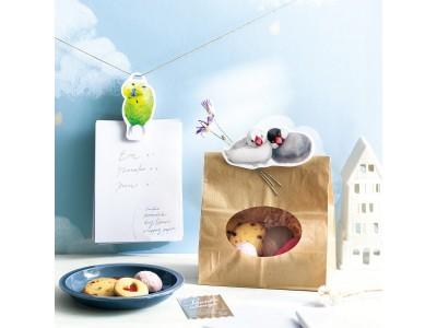 あなたのそばにちょこんと留まる「愛らしい小鳥クリップ」がフェリシモの部活動『小鳥部』から登場しました
