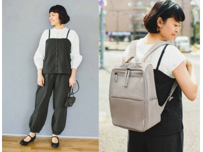 シンプルライフ研究家マキさんとフェリシモのファッションブランドLive in comfortがコラボ第3回目となる新アイテムがウェブ発売中