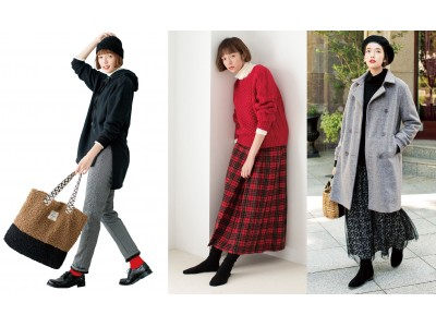 フェリシモのファッションブランドLive in comfortがMid Winter 2019-'20新作のウェブ販売を開始