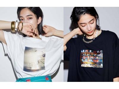 モデルの高瀬真奈とファッションブランドMEDE19Fがコラボしたヴィンテージ風の趣ある「プリントTシャツ」、フランス「ミュルーズ染色美術館」収蔵柄を再現した「プリントワンピース」など新作アイテムが登場