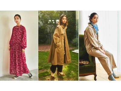 「MEDE19F」がデジタルカタログにてAutumn2020新作を発表、ウェブ販売中。カバーモデル高瀬真奈が着こなすビンテージのマインドを受け継ぐデイリーウェアのファッションブランド