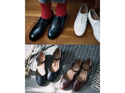神戸長田の靴職人が女性プランナーの理想を叶えた「本革ハーフウィングチップ」と「本革ストラップトウシューズ」をフェリシモ「日本職人プロジェクト」が発表、ウェブ予約を受付中